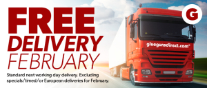 Free delivery February