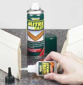 Instant Bond For Mitre Joints With Mitre Fast Glue Sticks Guns Dots Hot Melt Adhesives Uk Glue Guns Direct